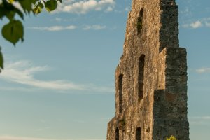 Ruine der Höhenburg Hohenurach