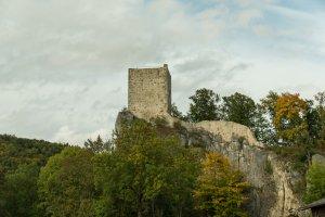 Ruine Dietfurt im Donautal