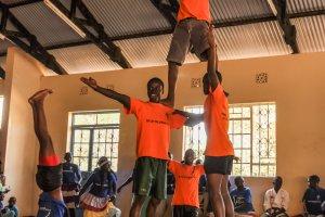 Vorstellung des Akrobatik-Teams