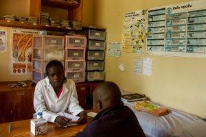 Auch die Menschen aus der Umgebung erhalten bei der MCF kostenlose medizinische Versorgung.