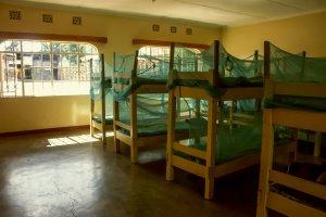 Die ehemaligen Straßenkinder erhalten bei der Mully Children's Family ein eigenes Bett ‒ meistens zum ersten Mal in ihrem Leben.