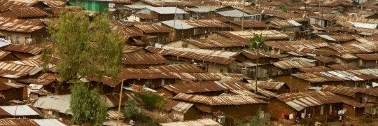 Kibera, Slum in Nairobi