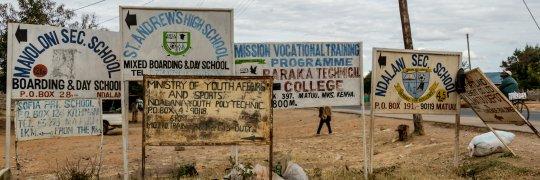 Bildungsangebote in Kenia