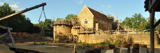Experimentelle Archäologie in Guédelon
