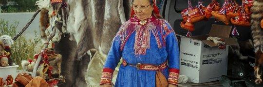 Sámi-Frau